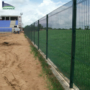 wire mesh fence construction