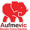 aufmevic wire mesh fence solution logo