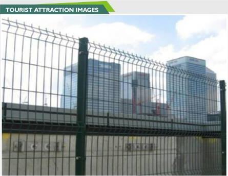wire mesh fence tourist