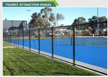 wire mesh fence swimming pool